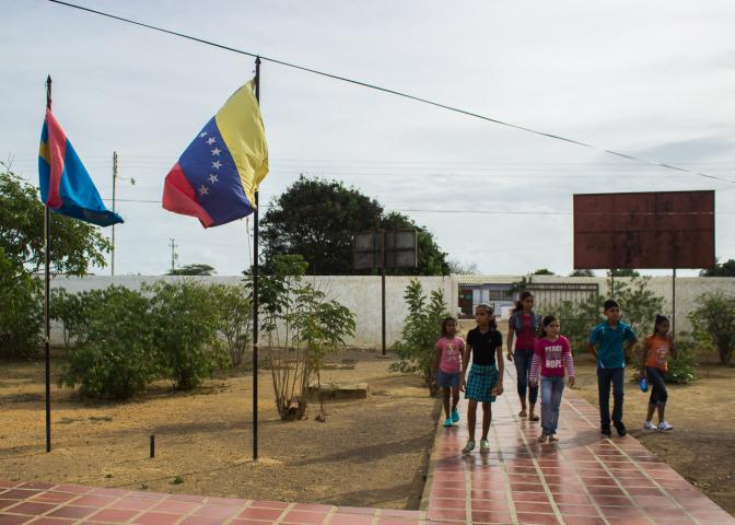 Principal No. 1 of Bolivarian Schools