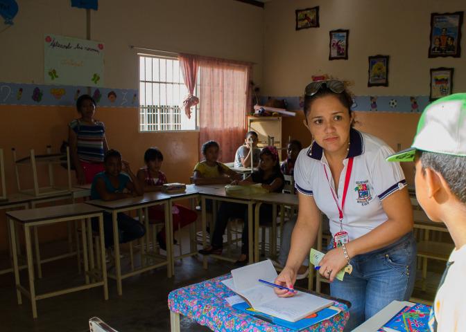 Principal No. 5 of Bolivarian Schools