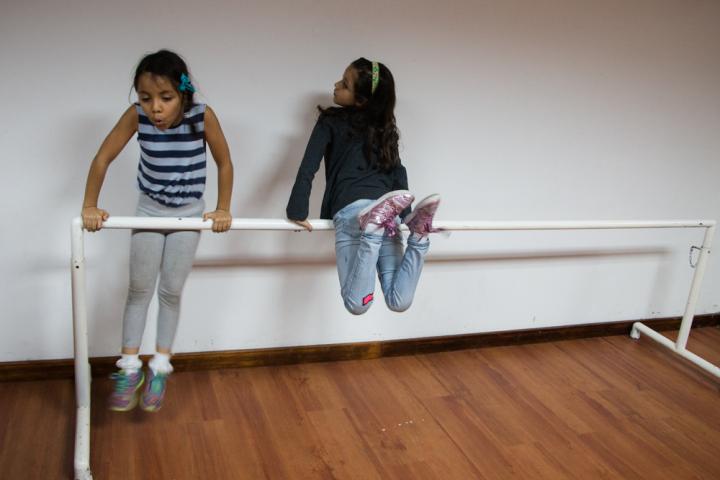 Cuando se trabaja con niños, siempre hay que dejar tiempo para la diversión
